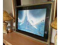 Beautiful picture in frame