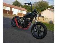 125cc hardtail chopper