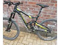 Cannondale Jekyll 4 2015 27.5 small full suspension