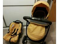 Graco evo push chair plus car seat great condition