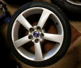 Saab or Vauxhall alloy wheels