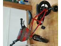 Boys bike for 2-4 years old