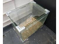 60L glass fish tank