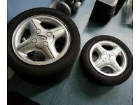 Set of alloy wheels for Ford
