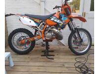 Swap for 4 stroke KTM exc 200 registered as 125