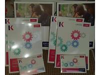 Official KAPLAN Publishing CIMA C01 & C04 full study materials