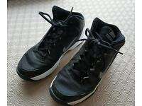 Nike size 5 high top trainers