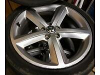 """Audi VW 18"""" Sline alloy wheels 4x"""