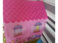 Girls play house