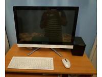 Lenovo desktop all in pc 21.5 inc