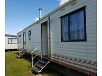 Caravan for hire on park resorts camber sleeps 6 to 8 £595 a week