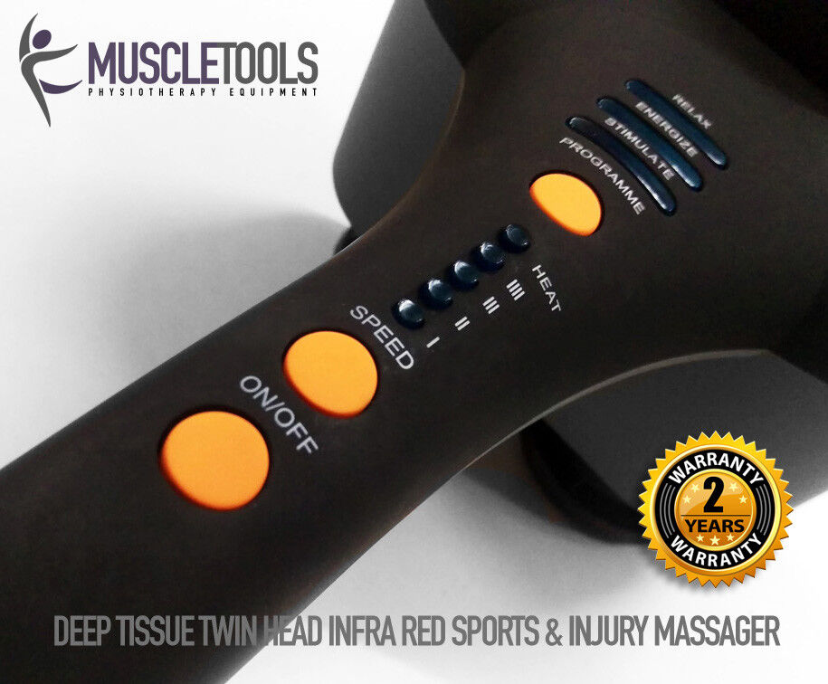 MUSCLETOOLS Electric Massage Deep Tissue Muscle Neck Back