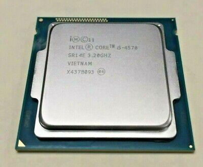 Intel Core i5-4570 3.2GHz / 6MB Quad Core CPU SR14E Socket LGA1150