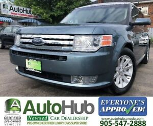 2010 Ford Flex SEL-AWD-LEATHER-HEATED SEATS