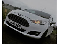 Ford Fiesta 1.0 EcoBoost Zetec 3dr - personalised plate