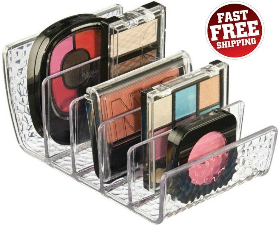 InterDesign Rain Cosmetic Palette Organizer for Vanity Cabin