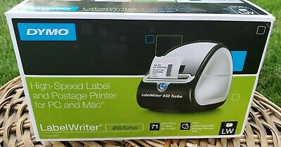 New Dymo Label Writer 450 Turbo Thermal Label Printer 1750283