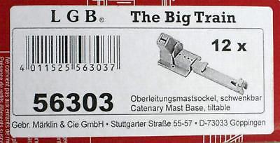 LGB 56303 G - Mastsockel schwenkbar NEU & OvP