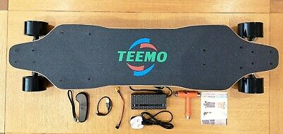 TEEMO M3-Plus, High Performance Electric Skateboard / Longboard - NEW UK STOCK