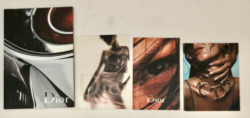 Dior lot of look book catalogs with price sheets 2000/2001