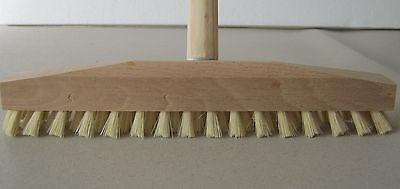 Schrubber Scheuerbürste Holz mit Gewinde (Breite 3,50) cm mit oder ohne Stiel