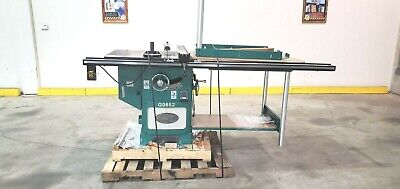 G0652 Ai Grizzly 10 5 Hp Cabinet Saw Wtables - Used Machine