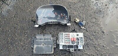 Fiat Doblo 1.9 diesel ignition barrel key transponder engine ECU