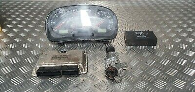 VW Bora SE TDI MK1 1.9 diesel ignition barrel key transponder engine ecu kit