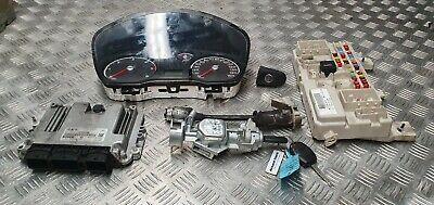 Ford Focus Sport 2005 1.6 TDCI ignition barrel key transponder engine ecu kit