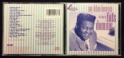 FATS DOMINO / THE BEST OF  AUDIO DISC MUSIC CD NM   1950'S ORIGINAL 20