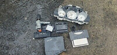 Mercedes SLK230 2002 2.3 petrol ECU ignition barrel key transponder engine ECU