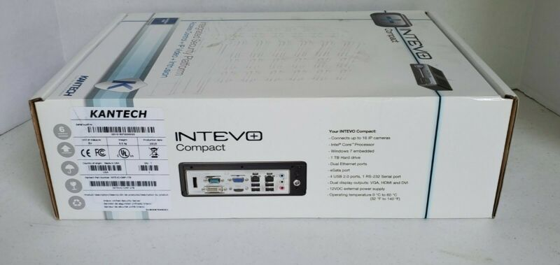 Kantech - INTEVO-CMP-1TB - Kantech INTEVO Integrated Security Platform