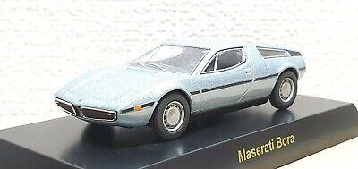1/64 Kyosho MASERATI BORA LIGHT BLUE diecast car model
