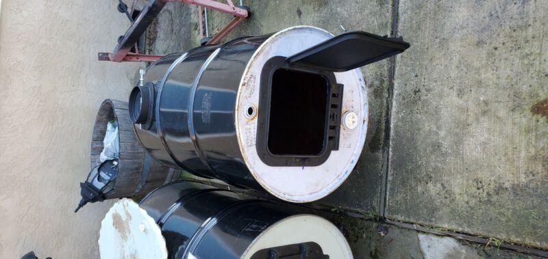 55 Gallon Barrel Stove