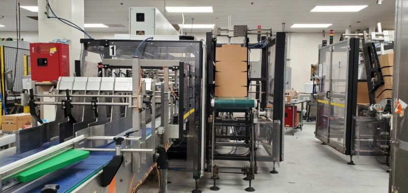 Arpac PC2500 Case/Tray Packer, 2018