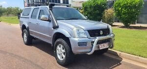 2005 Holden Rodeo LT 4x4 TURBO DEISEL MANUAL DUAL CAB