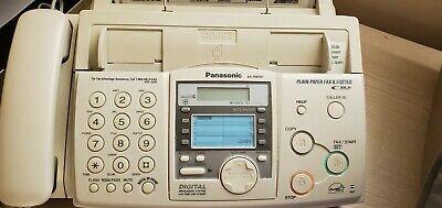Panasonic Digital Messaging System Compact Fax Machine Copier Kx-fhd351