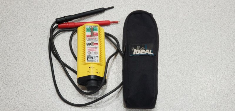 Pre-owned Ideal Vol-Con Tester Catalog # 61-076 Voltage Continuity Tested-Works