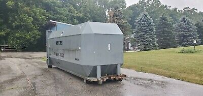 40 Yd Roll Off Compactor Box Very Good Condition