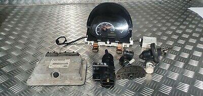 Fiat Seicento SX 2002 1.1 petrol ignition barrel key transponder engine ecu kit