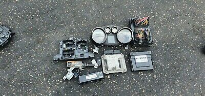 Vauxhall Astra J 2010 2.0 CDTI ignition barrel key transponder engine ecu kit
