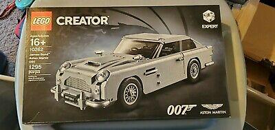 LEGO Creator 007 James Bond Aston Martin DB5 10262 Factory Sealed
