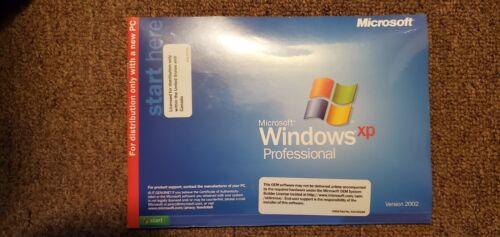 Microsoft Windows XP Professional,  Full Version, w/Product Key, Ver.2002 SP2