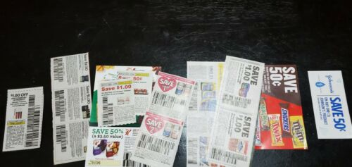 Lot Of 15 Manufacturer s Coupons Beauty, Health Wellness, Grocery, Food, Baby - $2.25