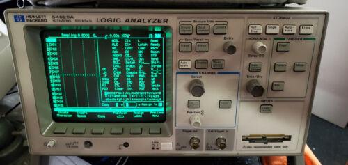 HP 54620A Agilent 16 Channels 500 MSa/s  Logic Analyzer NO probes  2090-0316