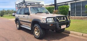2000  NISSAN PATROL ST 4x4 TURBO DEISEL MANUAL 7 SEATER Durack Palmerston Area Preview