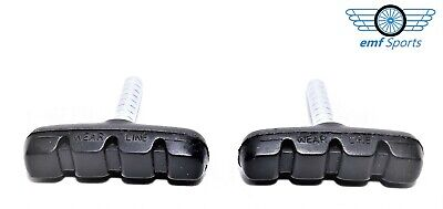 PROMAX Brake Pads (Blocks) For Bikes / Cycles: 50mm Cantilever Threadless Post