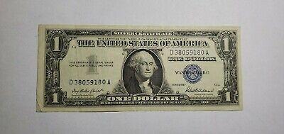 1957 Silver Certificate Dollar