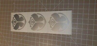 lot 3 stickers autocollant Tomorrowworld sticker Tomorrowland decal