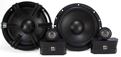 "2) MB Quart 6.5"" 90 Watt Component Speakers Speaker System Set Pair | DC1-216"